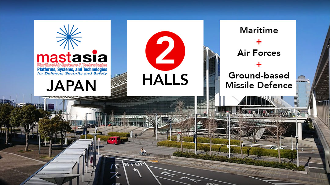 MAST Asia 2019, Chiba, Tokyo, 2 Halls, Maritime, Air Forces, Ground-based Missile Defence