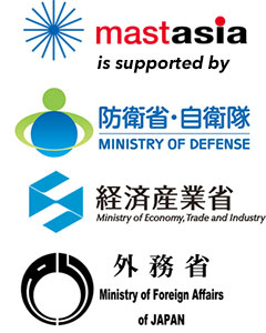 MAST Asia is supported by: Japan Ministry of Defense; Japan Ministry of Economy, Trade and Industry; Ministry of Foreign Affairs of Japan