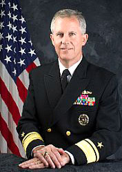 Rear Admiral James Shannon